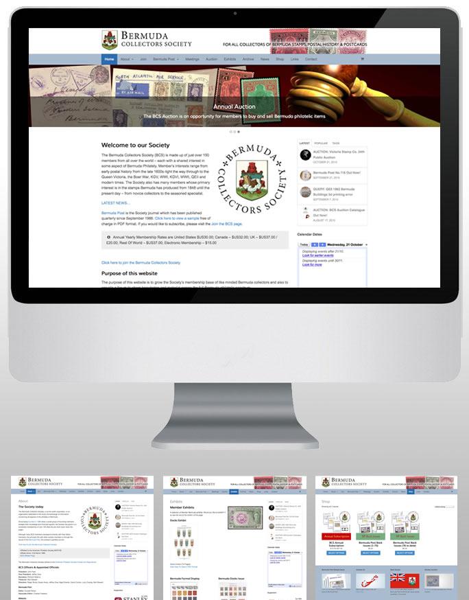 Bermuda Collectors Scoiety website