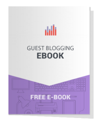 Guest Blogging eBook cover