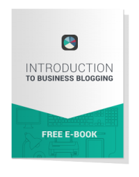 Introduction to Business Blogging eBook cover